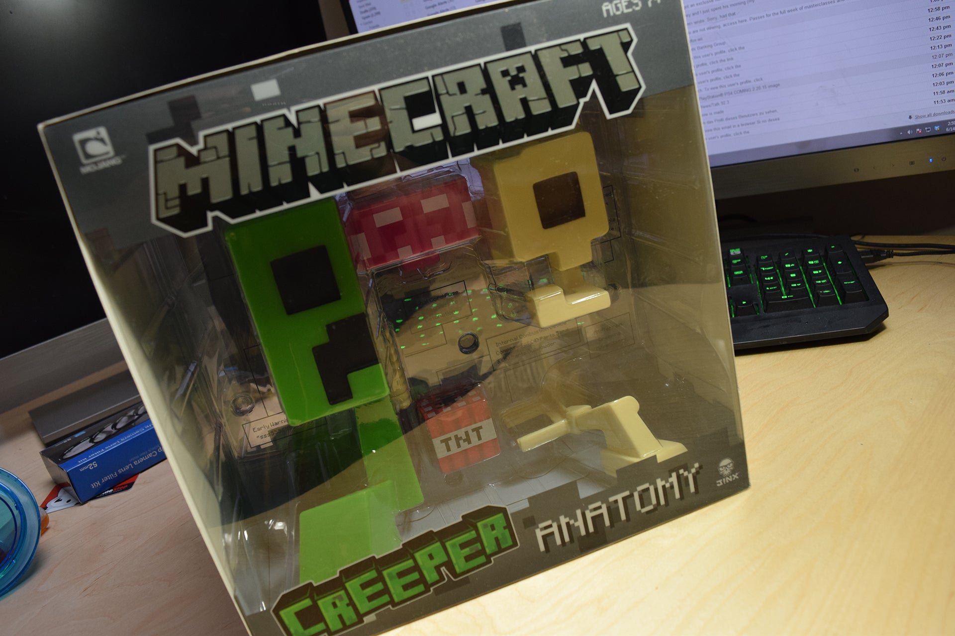Minecraft Creeper In Real Life The minecraft creeper anatomy