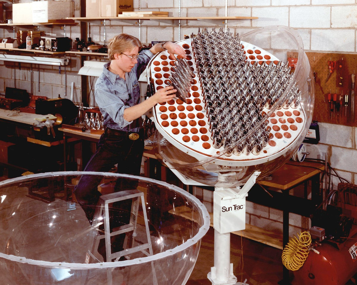 This Is What Solar Panels Used to Look Like