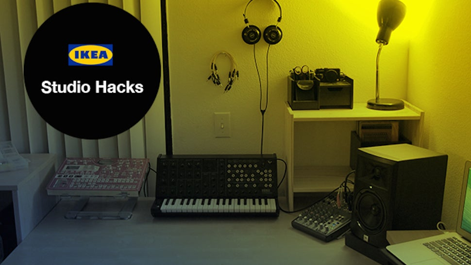 Build This Dream Music Studio With IKEA Furniture