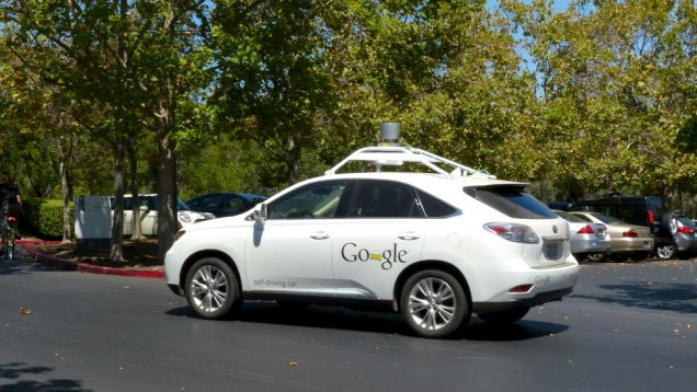 Google's Testing Self-Driving Cars In A Matrix-Style Simulation