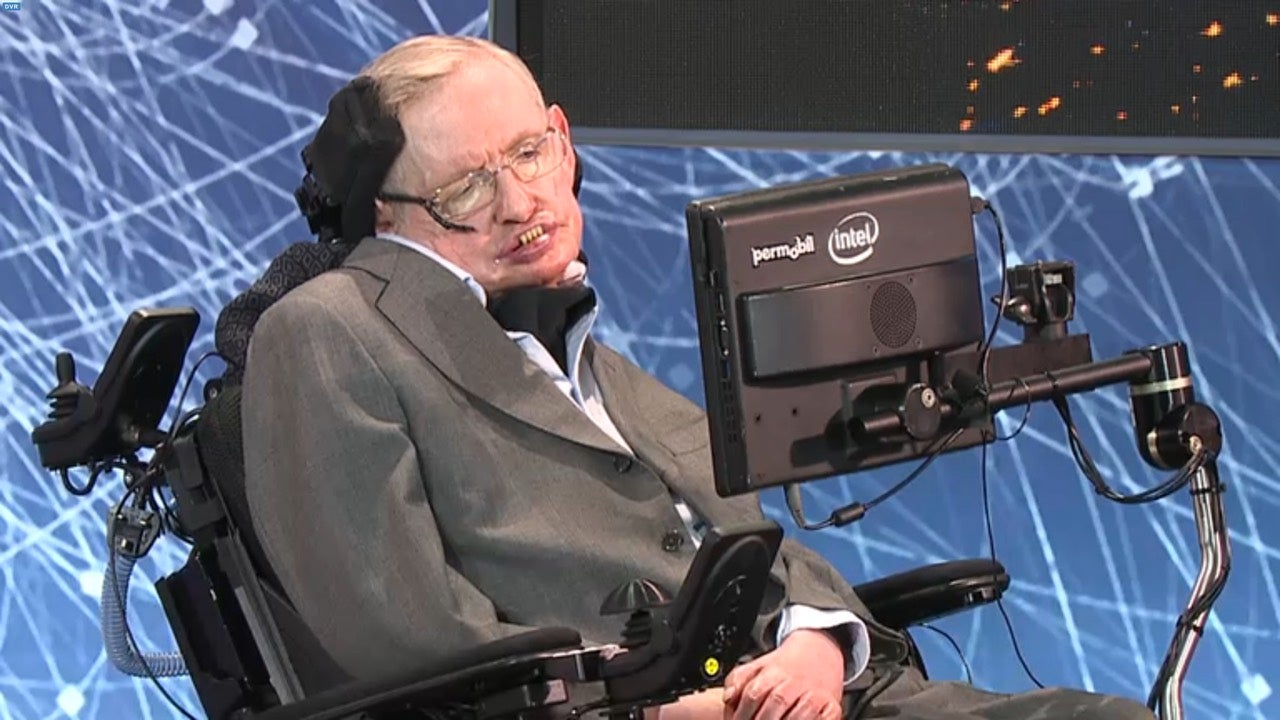 Stephen Hawking Was Dropping Zingers Left And Right Today
