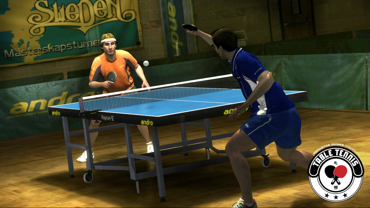 That Time Rockstar Made A Table Tennis Game