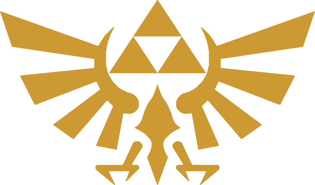 The Royal Crest From The Legend Of Zelda Series, Recreated ...