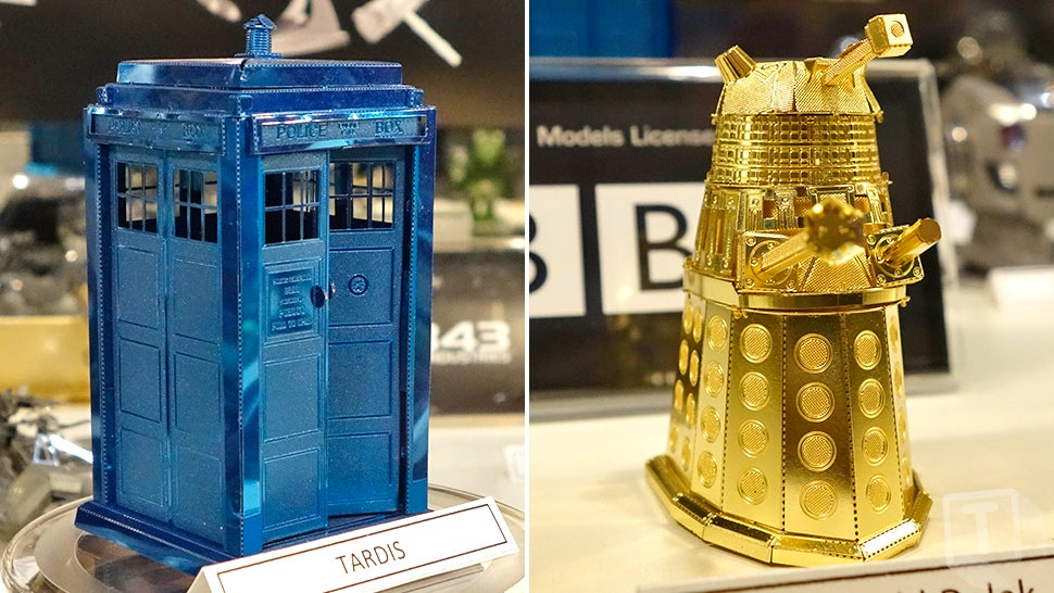 Those Incredibly Intricate Metal Origami Models Are Now Available in Colour
