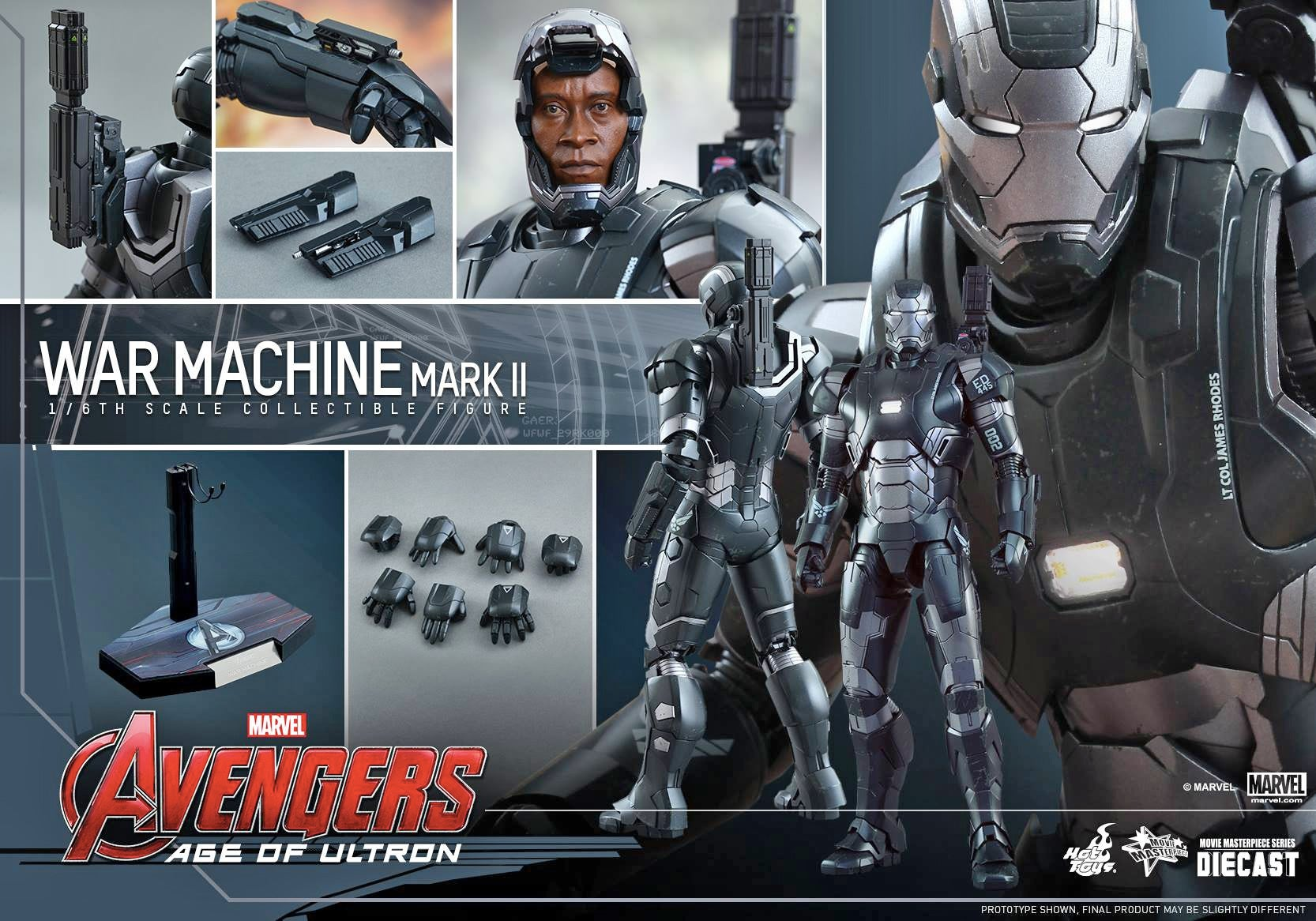 This Sixth-Scale War Machine Will Make You Want Your Own Shoulder Cannon