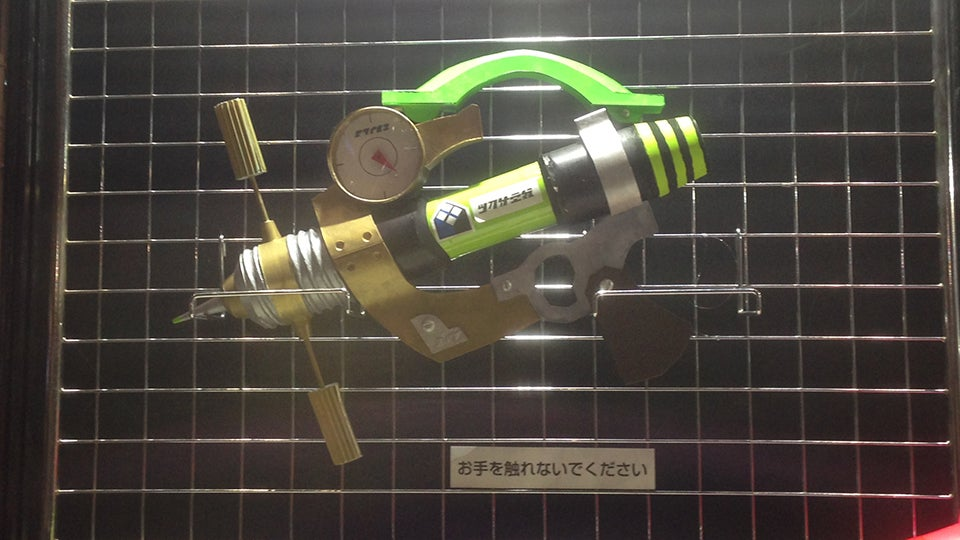 Fans Bring Splatoon Weapons to the Real World