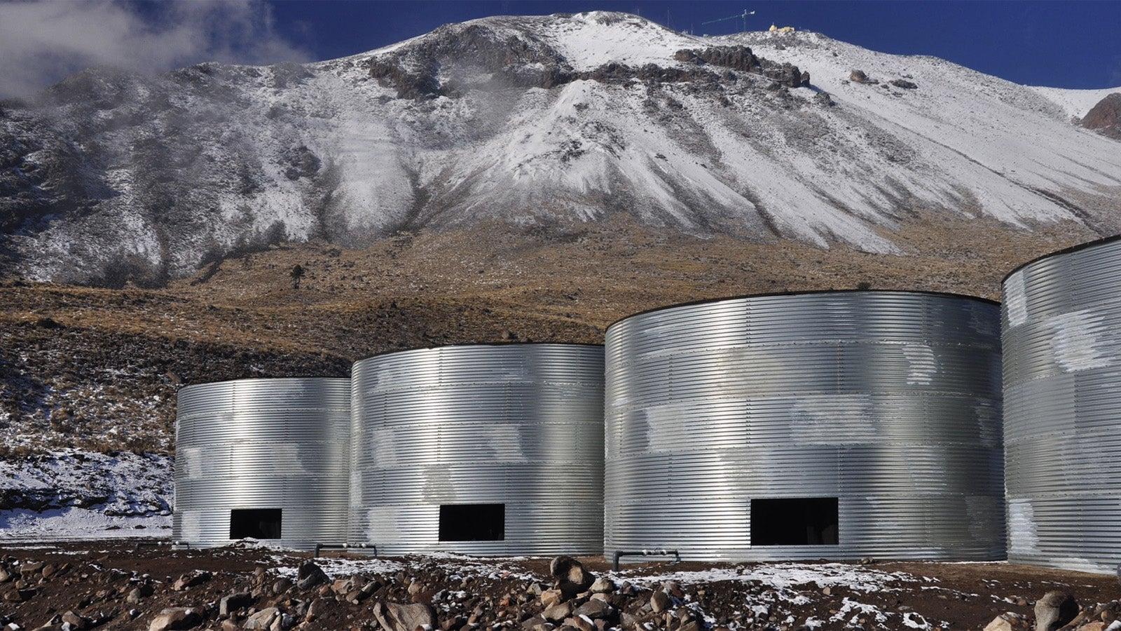 These Huge Beer Keg Tanks Will Study Cosmic Explosions