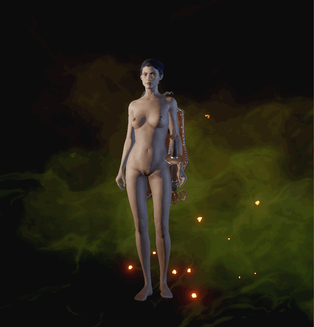 Dragon age dwarf female nude nude clip