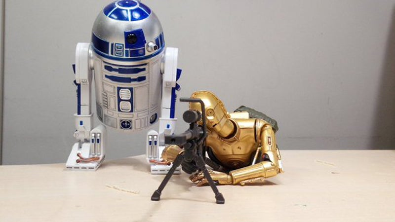 R2-D2 And C-3PO Are Out Of Control