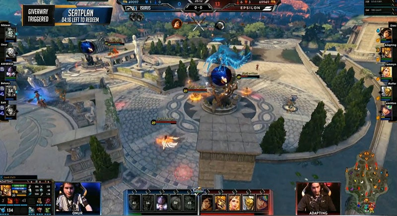 The 2016 Smite World Championship Kicked Off With A Complete Shutout