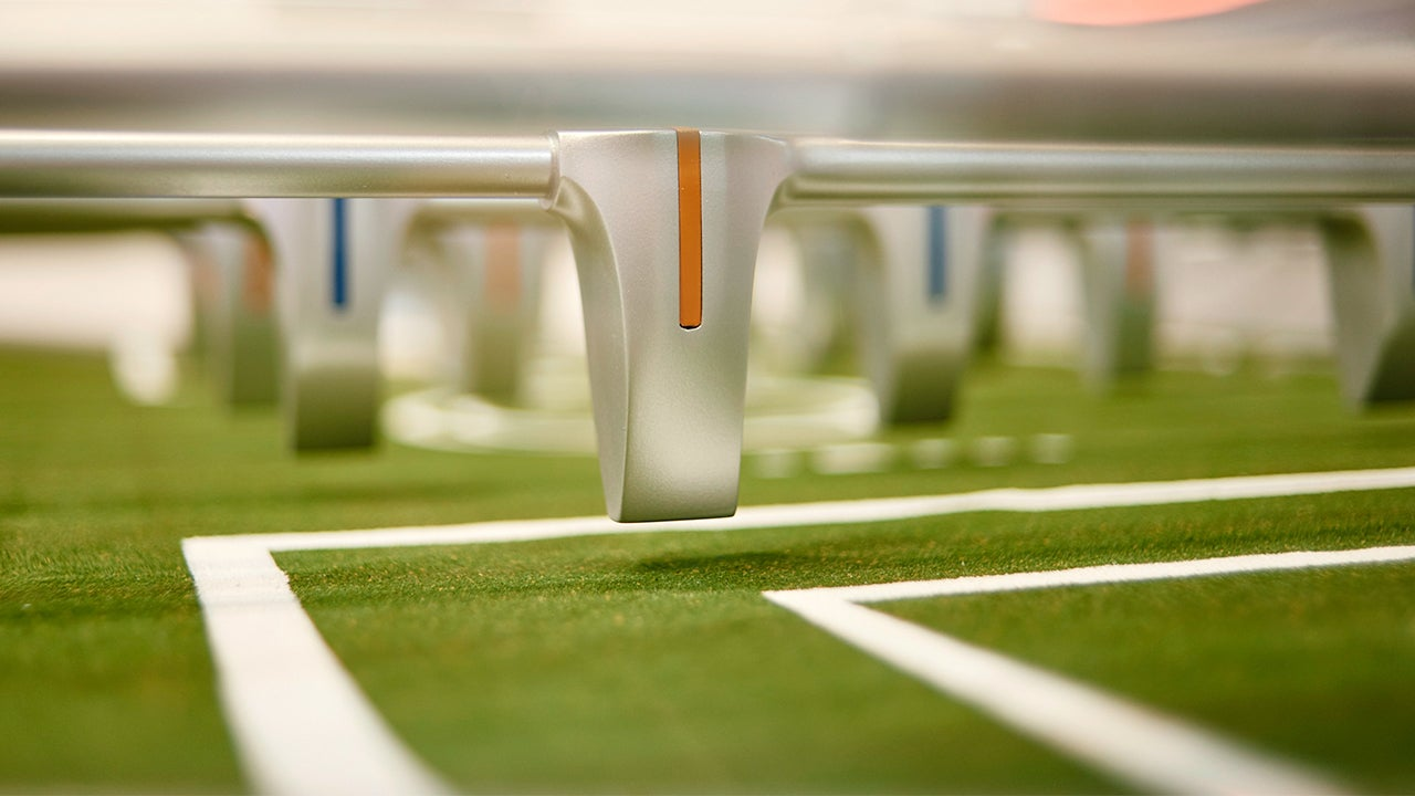 Ford Designed a Sleek Futuristic Foosball Table With Actual Grass Turf