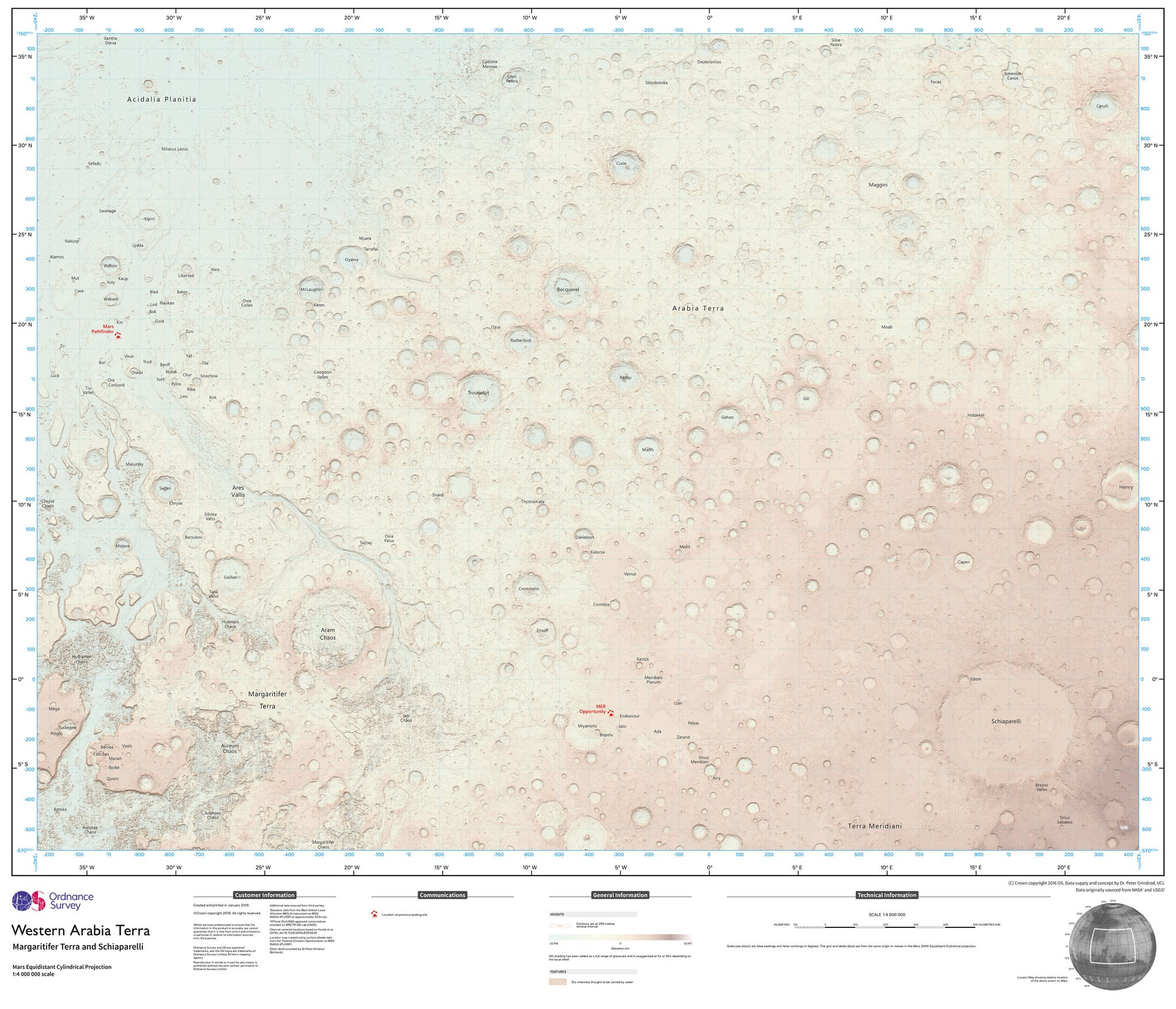 We Think These Martian Roadmaps Accidentally Revealed the Site of an Upcoming Mars Landing