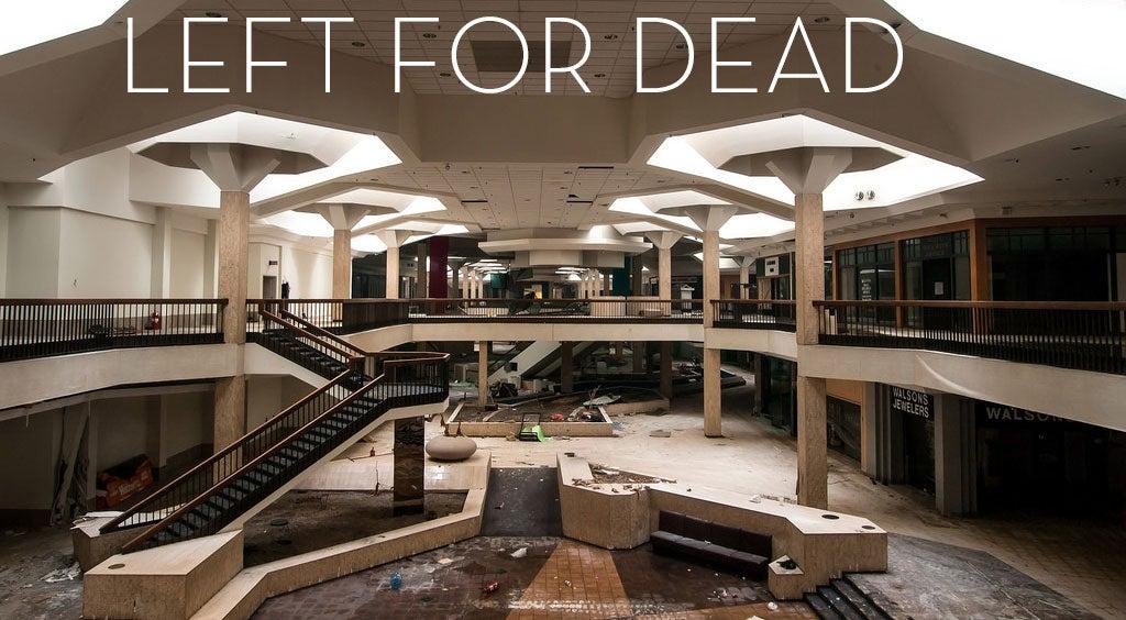 Abandoned Shopping Centres Look Like Sad, Empty Video