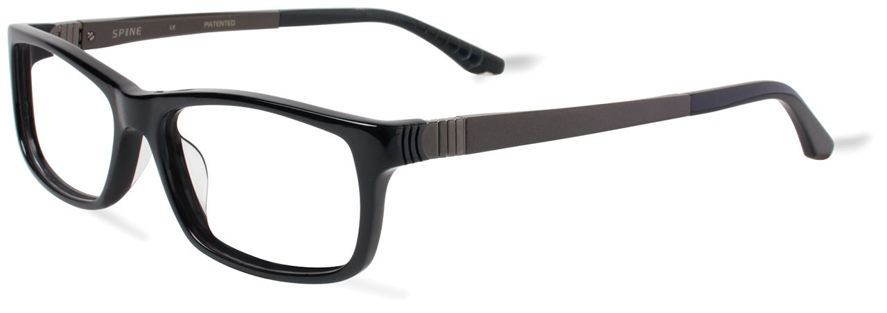 A Clever Segmented Hinge Ensures These Glasses Fit Anyone's Face