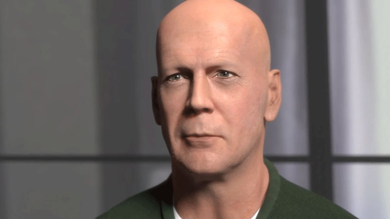 How to Rebuild Bruce Willis Inside of a Computer