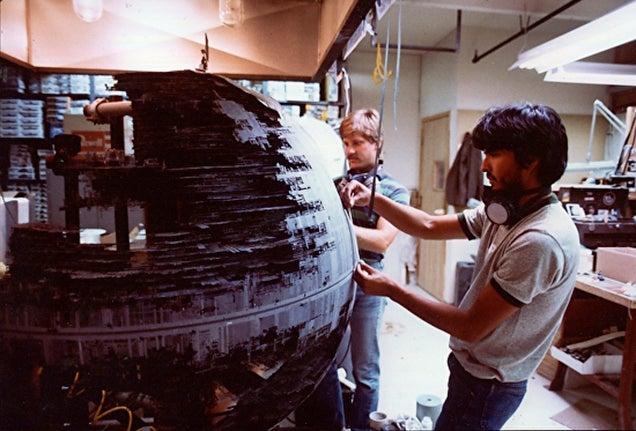 Paintings by Frank Ordaz: Co-creator of Star Wars' original artwork