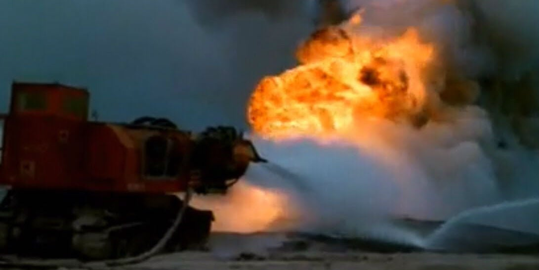 How to Fight Fires With Decommissioned Jet Engines Strapped to a Tank