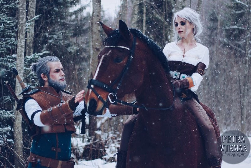 Geralt & Ciri Say Goodbye