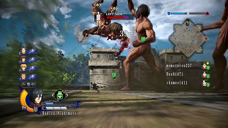 Attack on Titan's Multiplayer Is the Game's Best Part