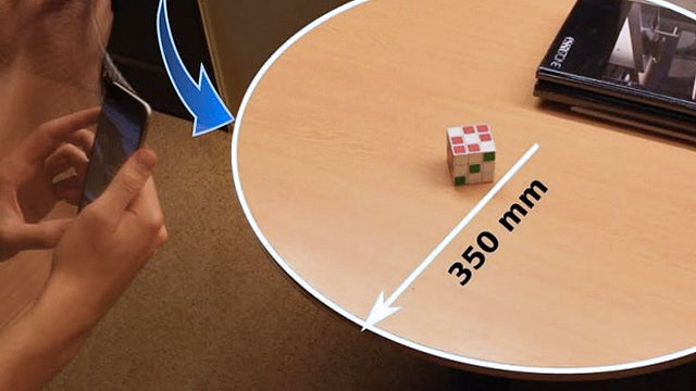 Waving Your Phone Around Can Turn It Into A Surprisingly Accurate Ruler
