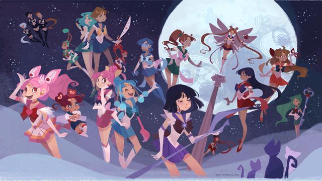 Anime Characters Born On July 8 : If sailor moon had been a western cartoon kotaku australia