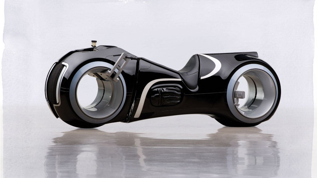 This TRON Motorbike Is Totally Functional, And You Can Totally Buy It