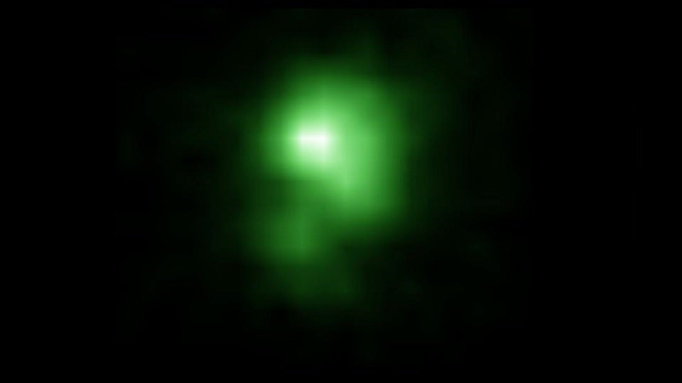 'Green Pea' Galaxies May Have Reheated the Universe After Cosmic Dark Age