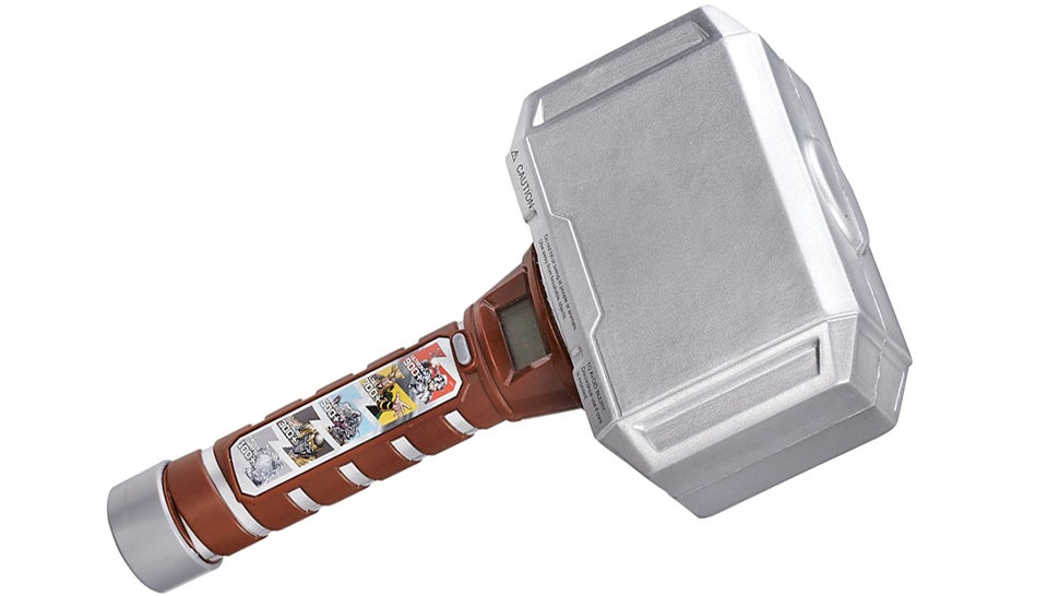 Test Your Strength Against Marvel Villains Using Thor's Mighty Hammer