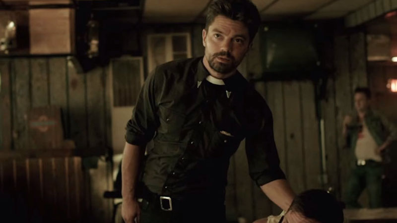 The Preacher Pilot Has an Absurd (and Absurdly Hilarious) Celebrity Cameo