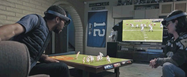 Microsoft Has Some Crazy Ideas About How We're Going to Use HoloLens to Watch Sports