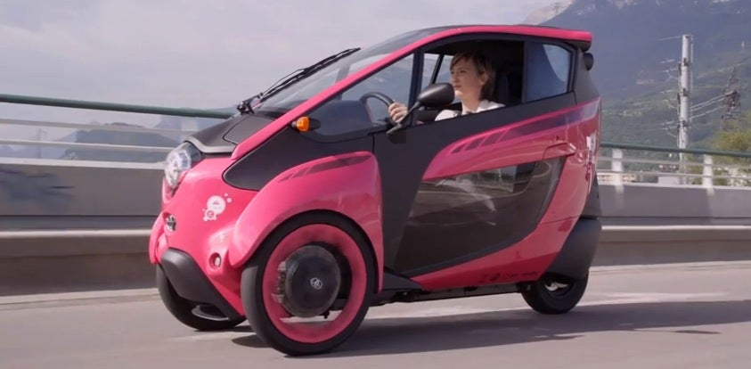 Toyota's New Transit Idea Is Like A Bikeshare For Tiny Electric Cars