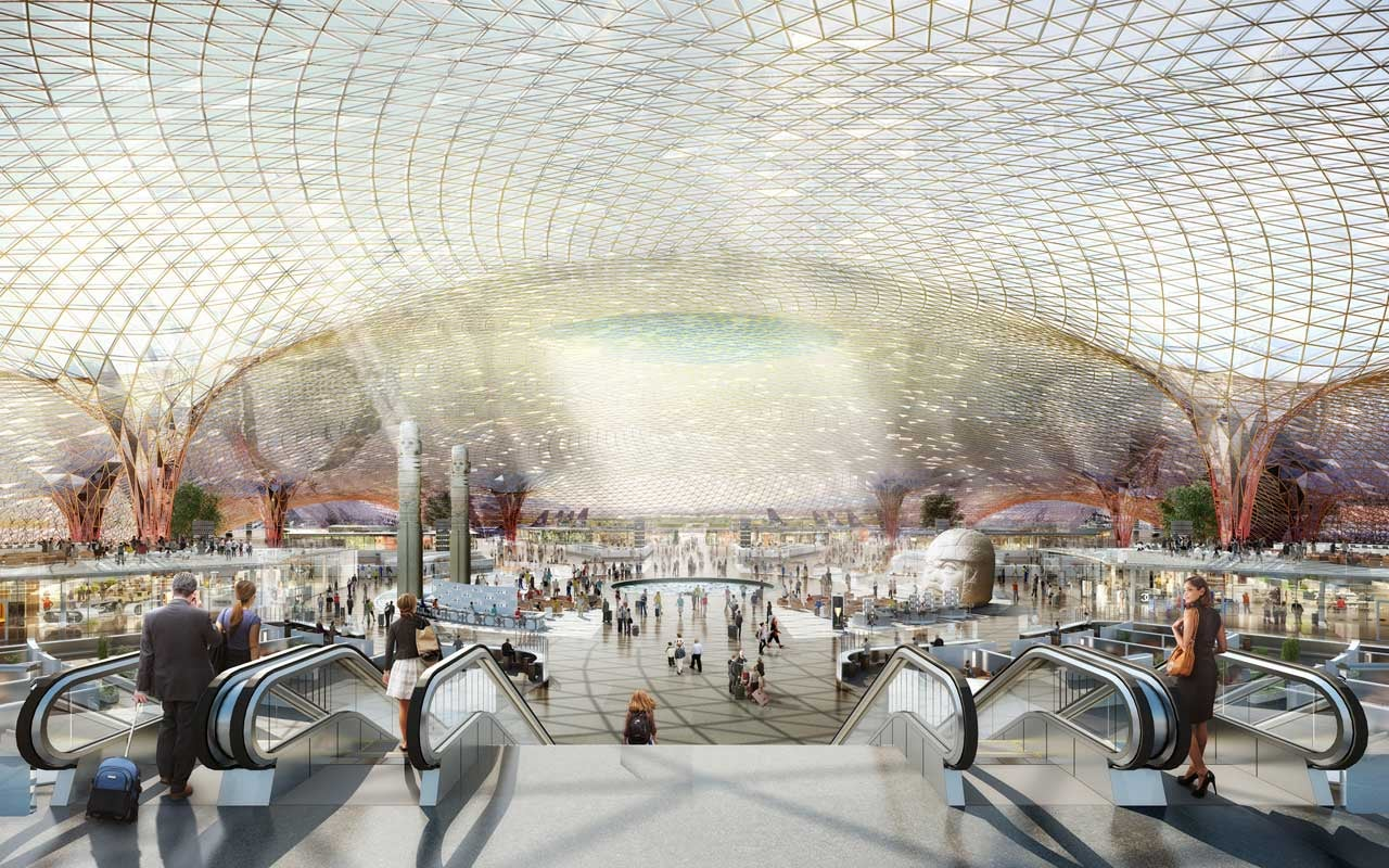 Mexico City's New Mega-Airport Will Collect Its Own Energy and Water