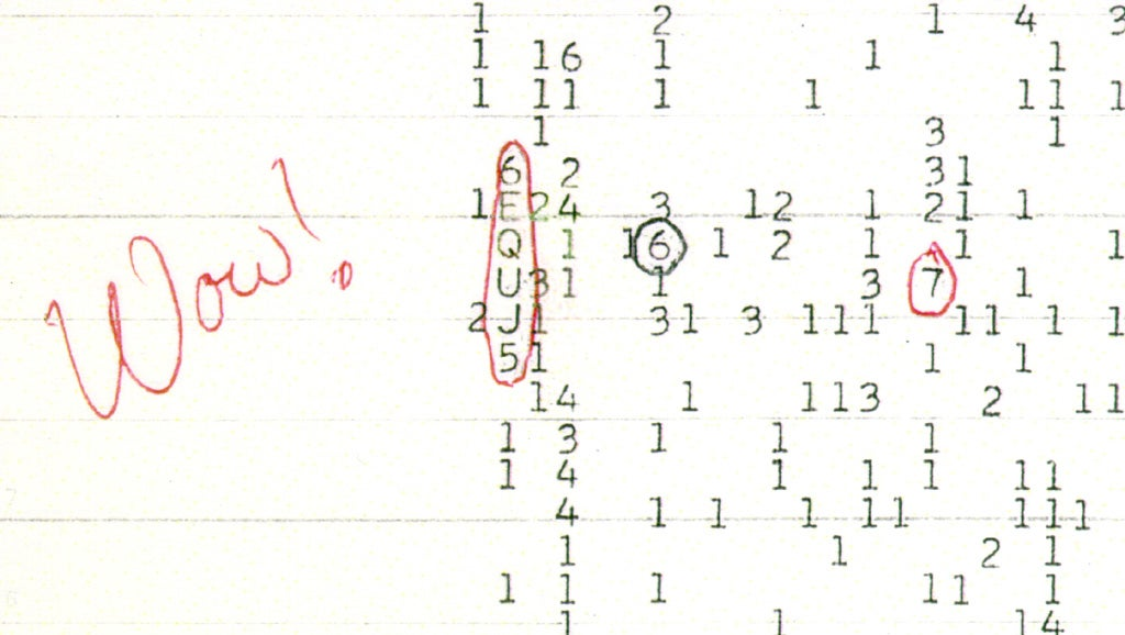 Mysterious Wow! Signal Came From Comets, Not Aliens, Claims Scientist