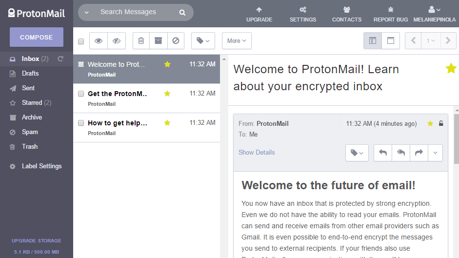 ProtonMail Is the Easiest Way to Send and Receive Encrypted Emails