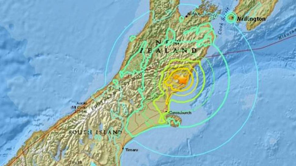 At least 2 dead in New Zealand quake