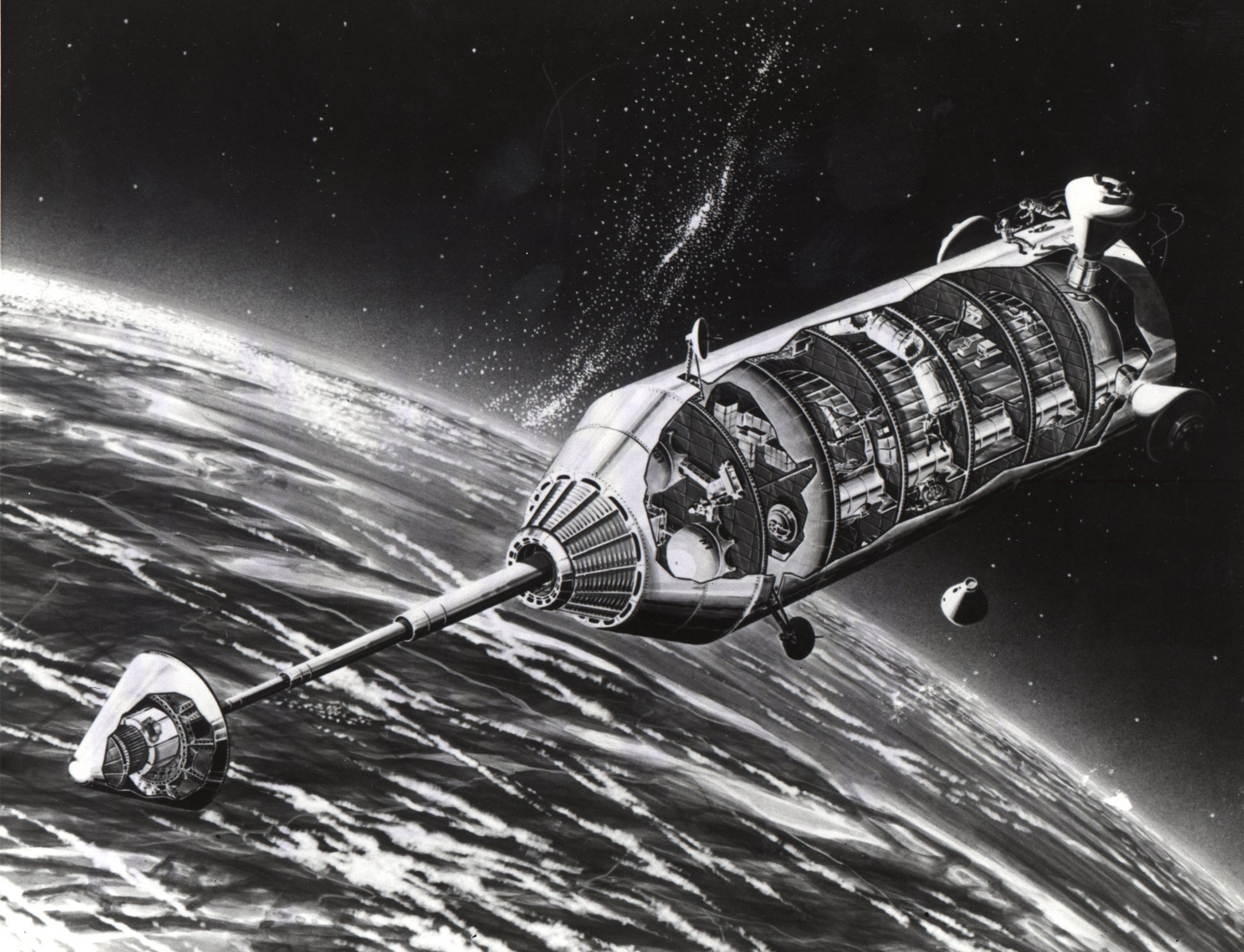 9 forgotten nasa concepts for space stations that never for Space concept