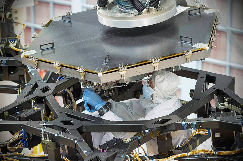 Aww Yeah, the James Webb Space Telescope Has Half Its Mirrors!