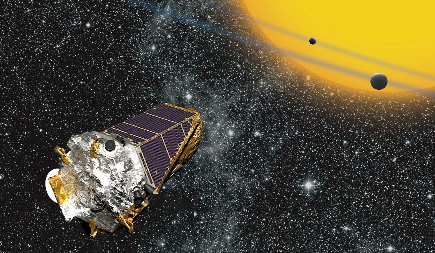 NASA Just Recovered Its Drifting Kepler Spacecraft