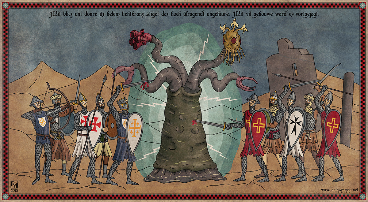 Lovecraft's Creatures Would Have Made Excellent Opponents For Europe's Crusaders