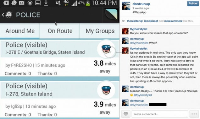 Police Are Trying to Undermine Waze With a Deluge of Phony Cop Sightings