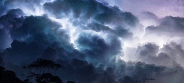 This Thunderstorm Time Lapse Is the Most Frightening Thing
