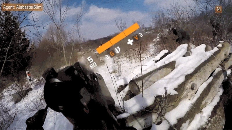 Intense Paintball Match Edited To Look Like The Division