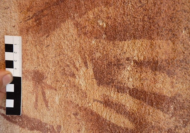 These Ancient 'Hand Prints' Were Not Made by Human Hands
