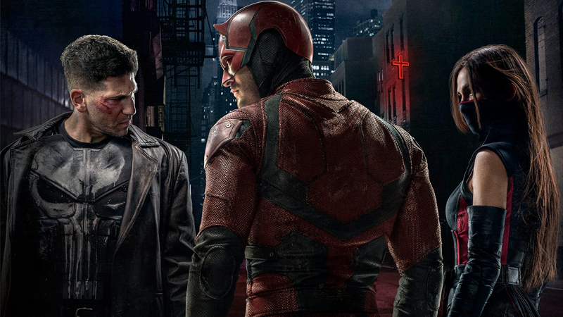 Your Best Look Yet at Punisher and Elektra's Comic Costumes in Daredevil Season Two