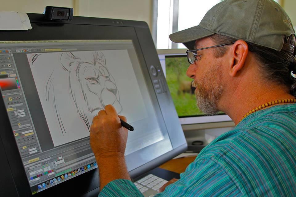 Im Aaron Blaise Animator And Illustrator This Is