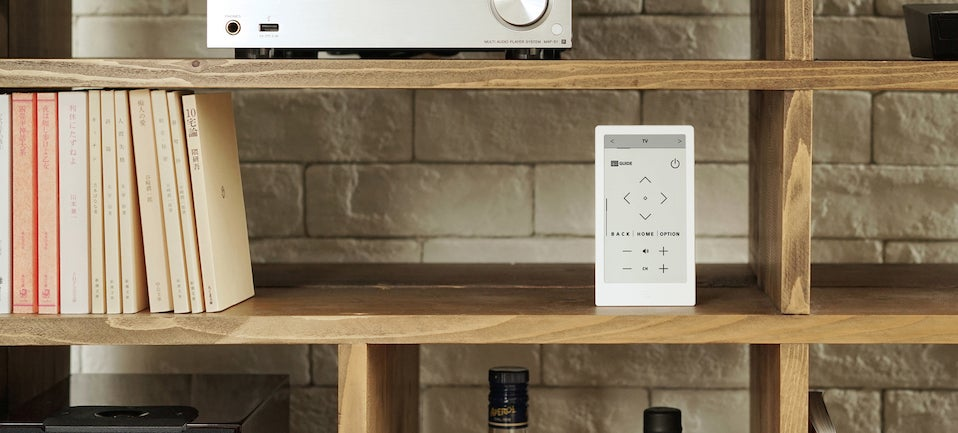 We Hope Sony's Sleek Universal E-Ink Remote Reaches the US