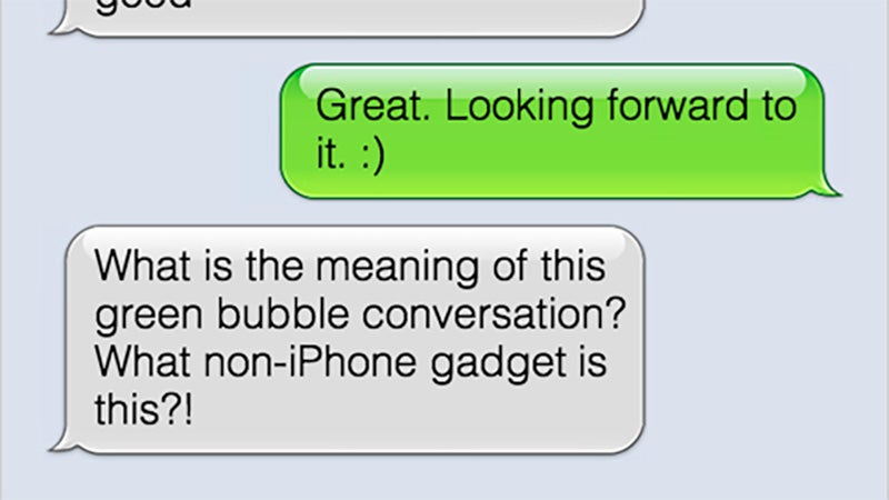 I M Buying An Iphone Because I M Ashamed Of My Green Bubble Gizmodo Australia