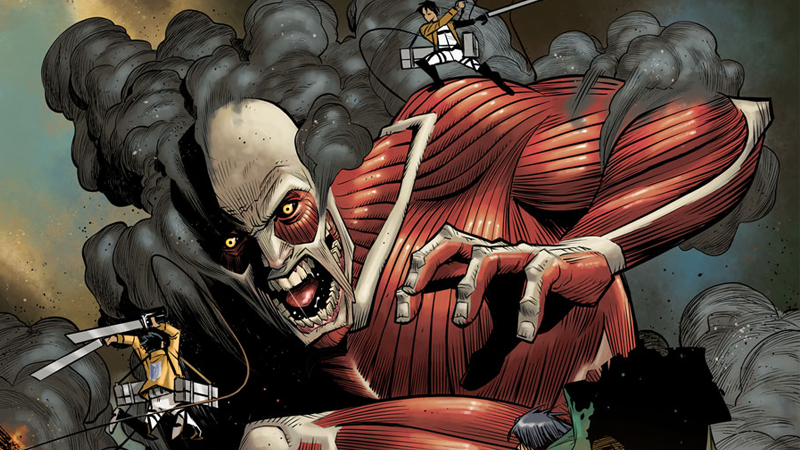 The Western Attack on Titan Comic Has Some Serious Talent Behind It