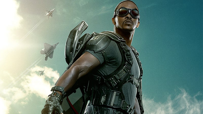 Anthony Mackie Discovered He Was an Avenger at the Age of Ultron Premiere
