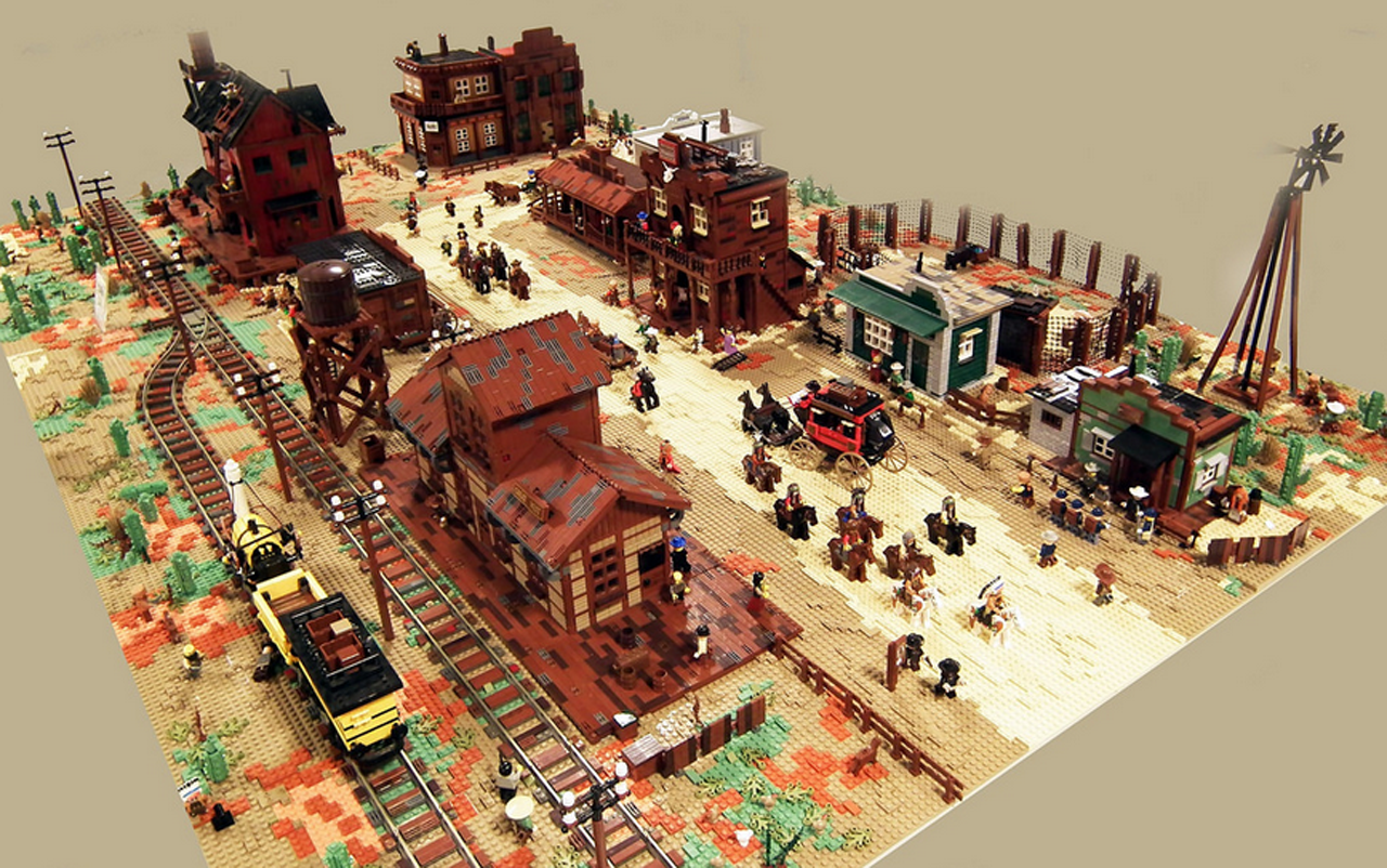 lego wild west town is huge and has everything kotaku australia